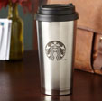 Stainless Steel Starbucks® Logo Tumbler, 16 fl oz